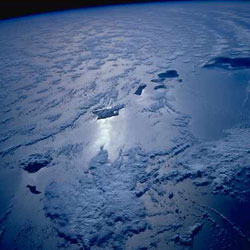 Image of Hawaii taken from Space