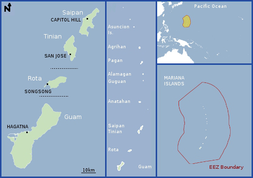 Education Resources: Regional Information, Northern Mariana Islands ...
