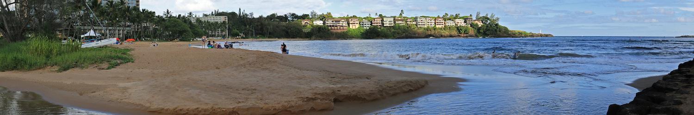 Nawiliwili Beach Park, Nawiliwili Bay, Lihue, Kauai, Hawaii, United States
