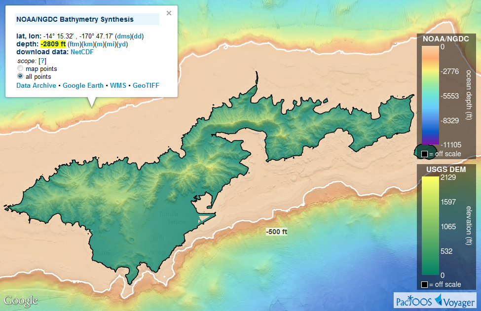 New Bathymetry And Enhancements | PacIOOS