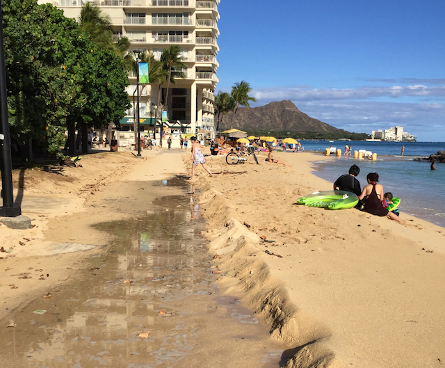 Example of Waikiki Run-up 2016