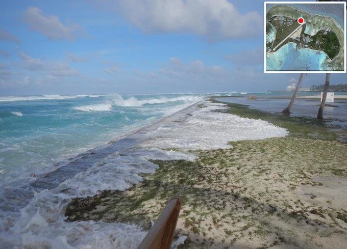 Example Kwajalein Wave Run-up 2014
