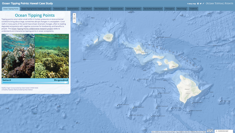 Ocean Tipping Points Story Map
