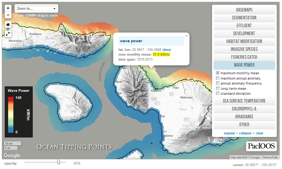 Ocean Tipping Points: Hawaiʻi Case Study | PacIOOS